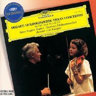 VIOLIN CONCERTOS NOS.3 & 5/ ANNE-SOPHIE MUTTER, HERBERT VON KARAJAN [THE ORIGINALS] [모차르트: 바이올린 협주곡 3, 5번 - 무터, 카라얀]