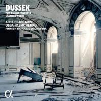 CONCERTOS FOR TWO PIANOS, CHAMBER WORKS/ ALEXEI LUBIMOV, OLGA PASHCHENKO [두세크: 두대의 피아노를 위한 협주곡, 피아노 5중주 - 루비모프, 파쉬첸코]