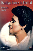 MARILYN HORNE/ MARILYN HORNE IN RECITAL 1981