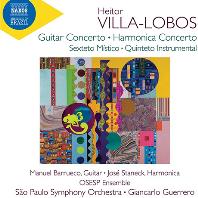 GUITAR & HARMONICA CONCERTOS/ GIANCARLO GUERRERO [빌라-로보스: 협주곡과 실내악 작품집 - 지안카를로 게레로]