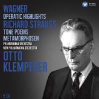 WAGNER & R.STRAUSS [오토 클렘페러: 바그너 오페라 & 슈트라우스 교향시] [한정반]
