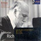 PIANO CONCERTO/ LACHRYMAE/ CELLO SONATA/ SVIATOSLAV RICHTER