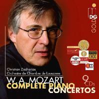 COMPLETE PIANO CONCERTOS/ CHRISTIAN ZACHARIAS [크리스티안 자카리아스: 모차르트 피아노 협주곡 전곡] [한정반]