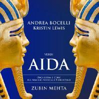 AIDA/ ANDREA BOCELLI, ZUBIN MEHTA [베르디: 아이다]