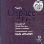 ORPHEE ET EURYDICE/ MARC MINKOWSKI (SACD HYBRID)