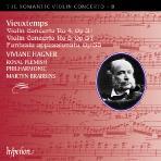 VIOLIN CONCERTO NOS.4 & 5/ VIVIANE HAGNER, MARTYN BRABBINS [THE ROMANTIC VIOLIN CONCERTO 8]