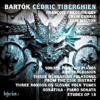 SONATA FOR TWO PIANOS, PERCUSSION & OTHER WORKS/ CEDRIC TIBERGHIEN [바르톡: 2대의 피아노와 타악기를 위한 소나타 외]
