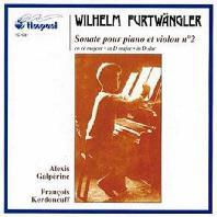 SONATE POUR VIOLON ET PIANO NO.2/ ALEXIS GALPERINE/ FRANCOIS KERDONCUFF