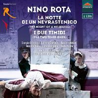 LA NOTTE DI UN NEVRASTENICO & I DUE TIMIDI/ GABRIELE BONOLIS [로타: 신경쇠약의 밤, 두 명의 소심한 사람]