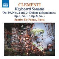 KEYBOARD SONATAS/ SANDRO DE PALMA [클레멘티: 건반 소나타 작품집 - 산드로 데 팔마]