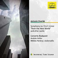"SYMPHONY NO.9 ""FROM THE NEW WORLD"" AND OTHER WORKS/ ANDRAS KELLER, MIKLOS PERENYI [드보르작: 신세계 교향곡, 첼로와 오케스트라를 위한 작품집 - 미클로시 페레니]"