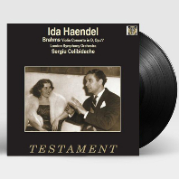 VIOLIN CONCERTO/ SERGIU CELIBIDACHE, IDA HAENDEL [브람스: 바이올린 협주곡 - 이다 헨델, 첼리비다케] [LP]