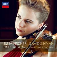 BRUCH & DVORAK VIOLIN CONOCERTOS/ DAVID ZINMAN [율리아 피셔: 브루흐 & 드보르작 바이올린 협주곡]