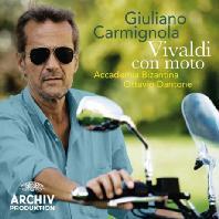 VIVALDI CON MOTO/ OTTAVIO DANTONE, GIULIANO CARMIGNOLA [비발디: 바이올린 협주곡집]