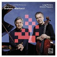 TWO SONATAS AND TWO ROMANCES FOR CELLO AND PIANO/ LUIGI PIOVANO, ANTONIO PAPPANO [브람스: 첼로 소나타 & 마르투치: 로망스 - 피오바노, 파파노]
