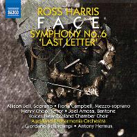 """FACE, SYMPHONY NO.6 """"LAST LETTER""""/ ANTONY HERMUS, GIORDANO BELLINCAMPI [로스 해리스: 얼굴, 교향곡 6번(마지막 편지)]"""