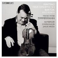 VIOLIN CONCERTOS 1, 2 & SOLO SONATA/ FRANK PETER ZIMMERMANN, JAKUB HRUSA [SACD HYBRID] [마르티누: 바이올린 협주곡 1, 2번 & 바르톡: 무반주 바이올린 소나타 - 프랑크 페터 침머만]