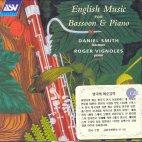 ENGLISH MUSIC FOR BASSOON & PIANO ETC