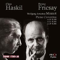 PIANO CONCERTOS NOS.19, 13, 20/ CLARA HASKIL, FERENC FRICSAY [모차르트: 피아노 협주곡 - 하스킬 & 프리차이]
