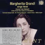 MARGHERITA GRANDI SINGS VERDI