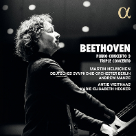 PIANO CONCERTO NO.3 & TRIPLE CONCERTO/ MARTIN HELMCHEN, ANDREW MANZE [베토벤: 피아노 협주곡 3번, 트리플 콘체르토 - 마르틴 헬름헨, 앤드루 맨지]