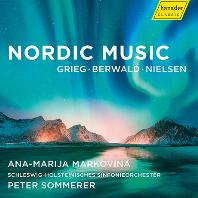 NORDIC MUSIC/ ANA-MARIJA MARKOVINA, PETER SOMMERER [노르웨이 음악: 그리그, 베르발트: 피아노 협주곡 & 닐센 - 마르코비나]