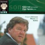 SONGS BY SCHUMANN, PFITZNER AND BRAHMS/ ROGER VIGNOLES