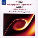 STRING QUARTET/ LYRIC SUITE/ NEW ZEALAND STRING QUARTET