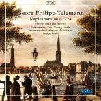 KAPITANSMUSIK 1724/ LUDGER REMY [SACD HYBRID] [텔레만: 지휘관을 위한 음악]