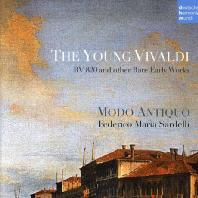 THE YOUNG VIVALDI: RV 820 AND OTHER RARE EARLY WORKS/ MODO ANTIQUO, FEDERICO MARIA SARDELLI [비발디: 초기 희귀 작품집]