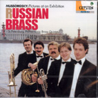 PICTURES AT AN EXHIBITION, SUITE ETC/ RUSSIAN BRASS