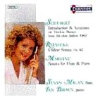 FLUTE & PIANO WORKS/ MILAN/ BROWN