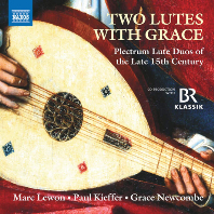 TWO LUTES WITH GRACE/ MARC LEWON, PAUL KIEFFER [15세기 후반 류트 이중주 음악 작품집 - 마크 레원, 폴 키퍼]