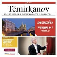 SYMPHONY NO.5 OP.47/ YURI TEMIRKANOV [쇼스타코비치: 교향곡 5번]