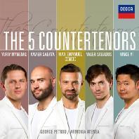 THE 5 COUNTERTENORS/ GEORGE PETROU [5명의 카운터테너]