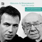 VIOLIN CONCERTOS/ SASHA ROZHDESTVENSKY, GENNADY ROZHDESTVENSKY [글라주노프 & 쇼스타코비치: 바이올린 협주곡 - 로제스트벤스키 부자]