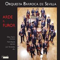 ARDE EL FUROR/ MARIA ESPADA, DIEGO FASOLIS [분노가 불타오르고: 18세기 안달루시아 음악 - 디에고 파솔리스]