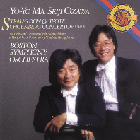 DON QUIXOTE & CONCERTO/ YO-YO MA, SEIJI OZAWA [슈트라우스: 돈키호테 & 쇤베르크: 첼로 협주곡 - 요요 마, 세이지 오자와]