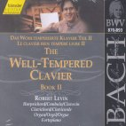 THE WELL-TEMPERED CLAVIER BOOK II/ ROBERT LEVIN