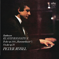 KLAVIERSONATEN OP.78 & 106/ PETER ROSEL [베토벤: 피아노 소나타 24번, 29번<함머클라비어>| 페터 뢰젤]