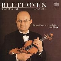 VIOLIN CONCERTO/ KARL SUSKE, KURT MASUR [베토벤; 바이올린 협주곡, 로망스 1, 2번 - 카를 주스케, 마주어]