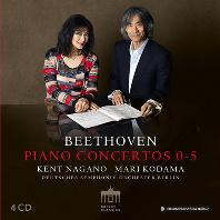 PIANO CONCERTOS NOS.0-5/ MARI KODAMA, KENT NAGANO [베토벤: 피아노 협주곡 0-5번, 론도, 에로이카 변주곡, 삼중협주곡 - 마리 코다마, 켄트 나가노]