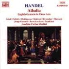 ATHALIA/ ENGKUSG ORATORIO IN THREE ACTS HWV52