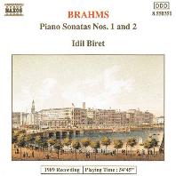 PIANO SONATA NOS.1 & 2/ IDIL BIRET [브람스: 피아노 소나타 1, 2번 - 이딜 비레]
