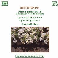 PIANO SONATAS VOL.8/ JENO JANDO [베토벤: 피아노 소나타 8집 - 예노 얀도]