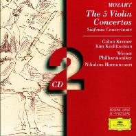 THE 5 VIOLIN CONCERTOS/ GIDON KREMER, NIKOLAUS HARNONCOURT [모차르트: 바이올린 협주곡 전집 - 크레머 & 아르농쿠르]