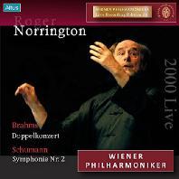 DOUBLE CONCERTO & SYMPHONY NO.2/ ROGER NORRINGTON [브람스: 이중협주곡 & 슈만: 교향곡 2번]