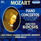 PIANO CONCERTOS K.238,456,595/ ZOLTAN KOCSIS/ LFCO/ ROLLA