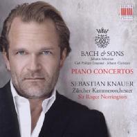 BACH & SONS: PIANO CONCERTOS/ SEBASTIAN KNAUER, ROGER NORRINGTON [바흐 & 아들들 1집: 건반 협주곡 - 제바스티안 크나우어]