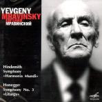 SYMPHONY `HARMONIA MUNDI` ETC/ YEVGENI MRAVINSKY